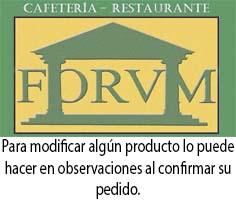 Cafetería Forvm