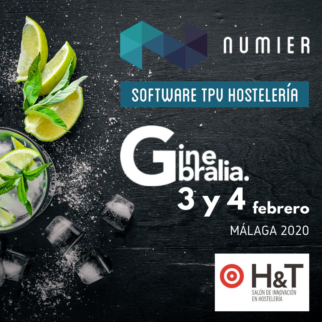 Numier será expositor en Ginebralia dentro de H&T Salón de Innovación en Hostelería