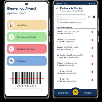 Numier INVENTARIO APP Android para Almacén