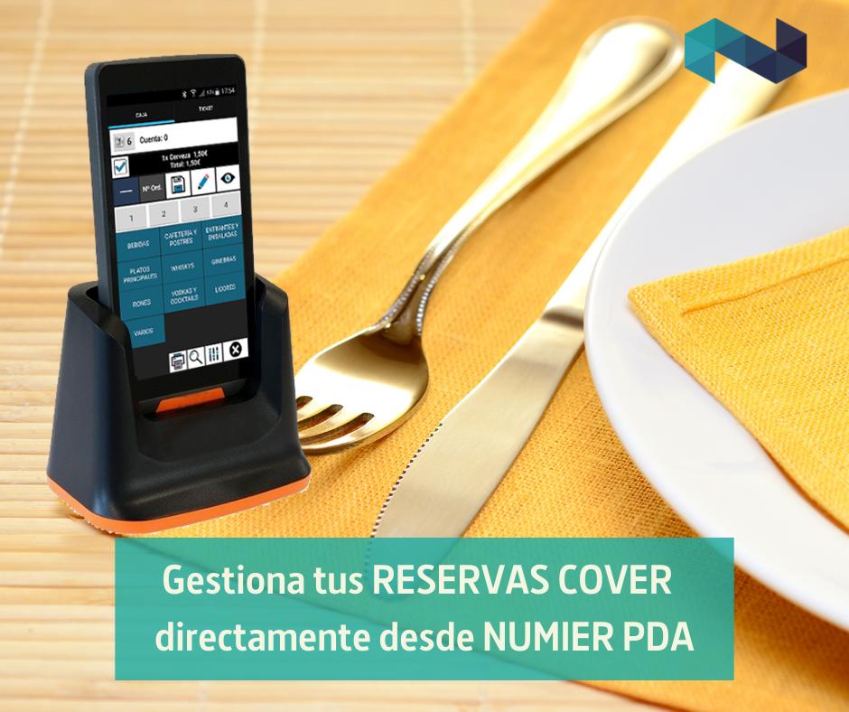 Gestiona tus reservas Cover directamente desde Numier PDA